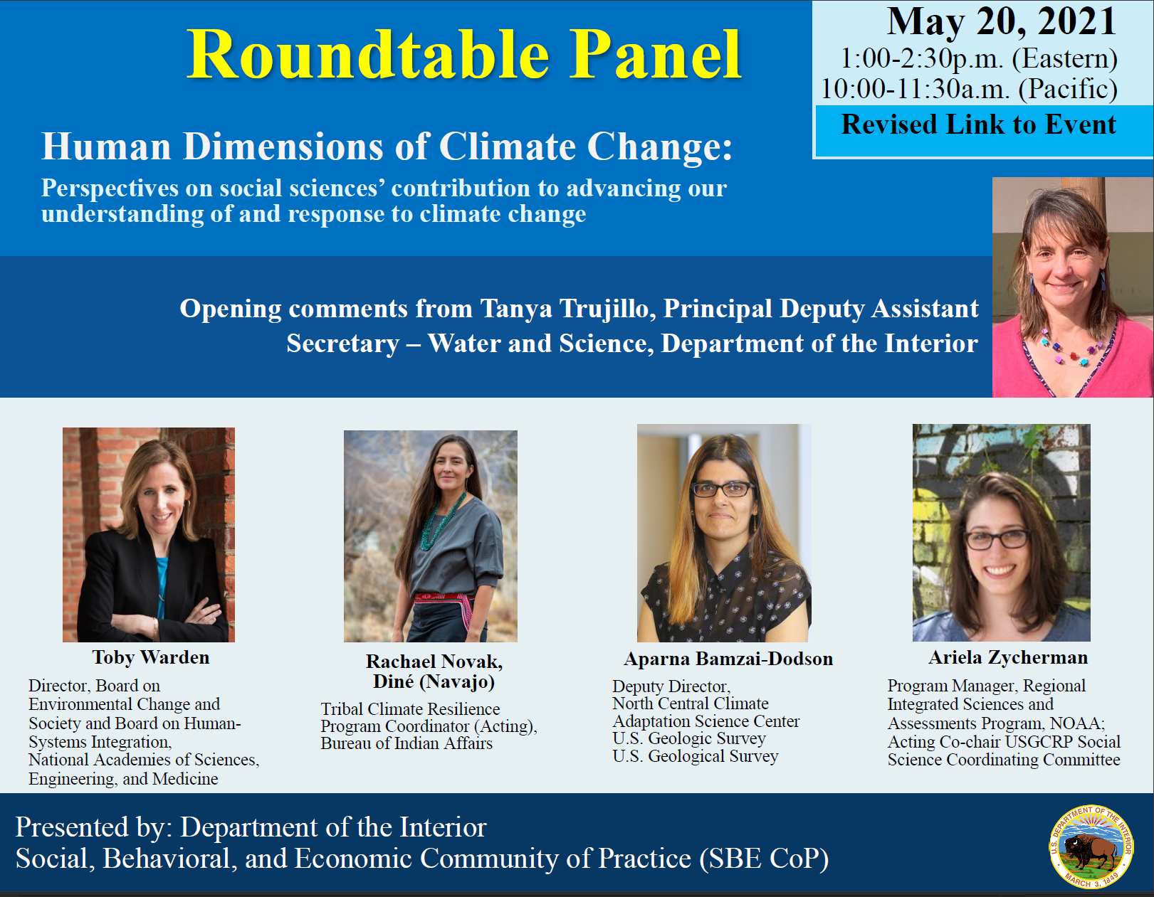 DOI SBE CoP Roundtable Flyer May 2021